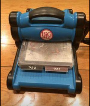 Ellison Design Big Shot Die Cutting Machine With Platform for Sale in San Leandro, CA