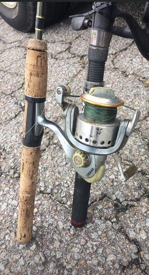 Green Fishing Pole 6' for Sale in Chesapeake, VA