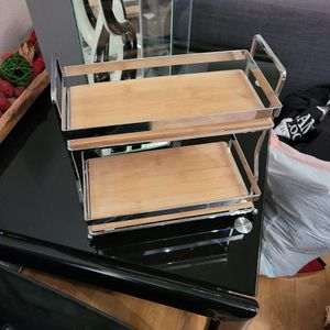 Small Chrome 2 Tier Shelf for Sale in Trabuco Canyon, CA