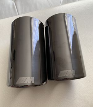 Bmw M tips for mufflers titan color for Sale in Alexandria, VA