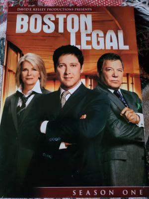 Boston Legal Season 1 Like New for Sale in Memphis, TN