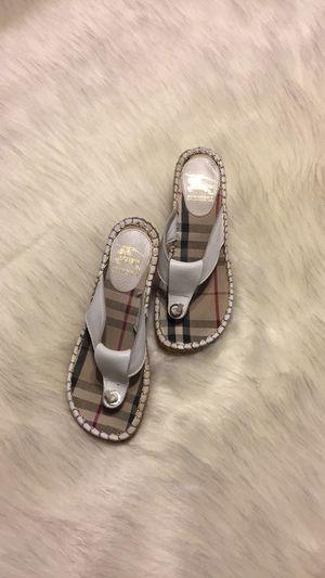 Ladies Burberry Sandals for Sale in Hiram, GA