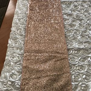 9 Peach Sequin table runners. for Sale in Bolingbrook, IL