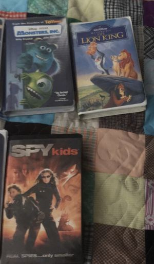 VHS tapes (mostly Disney) for Sale in Derby, KS