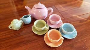 Ceramic Tea Time Playset for Sale in San Jose, CA