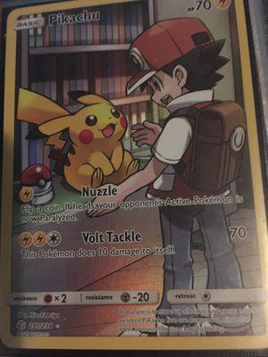 Pokemon pikachu card for Sale in Pembroke Pines, FL