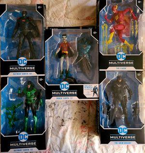 DC Multiverse Batman Flash And Robin for Sale in Fresno, CA