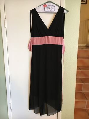 Black dress size Large for Sale in Rialto, CA