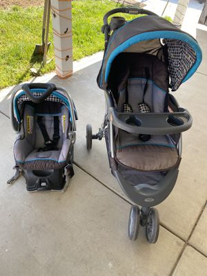 Baby Trend Car Seat (Base) and Stroller Combo for Sale in March Air Reserve Base, CA