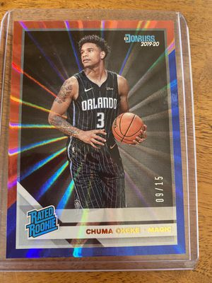 Chuma Okeke (09-15) numbered card for Sale in Tucson, AZ