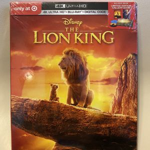 *NEW* The Lion King 4K Ultra HD + BluRay + Digital Code Exclusive Edition for Sale in Orangevale, CA