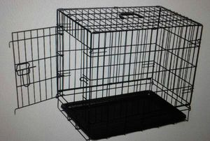 """☆Brand New With No pests or diseases 24"""" Single,Door,Dog Crate With Divider for Sale in Puyallup, WA"""