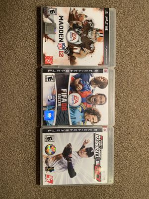 PS3 games for Sale in Kennewick, WA