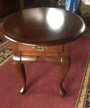 Cherry end table for Sale in Prospect, ME