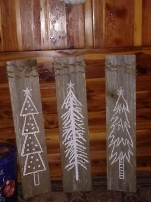 Christmas decor, homemade for Sale in Marksville, LA