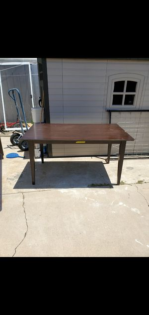 Big Brown Dining Table for Sale in Spring Valley, CA