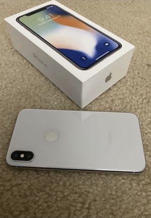 Unlocked iphone x 256gb for Sale in North Springfield, VA