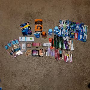 60 health and beauty items for Sale in Hampton, VA