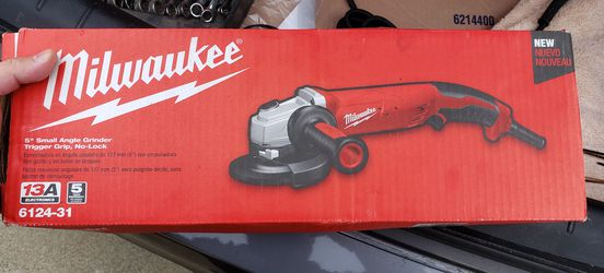 Milwaukee 13 Amp 5 in. Small Angle Grinder with Trigger Grip for Sale in Newark,  CA