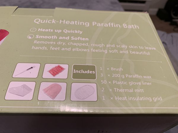 Hand and foot Spa - Paraffin Bath - PENDING PICKUP
