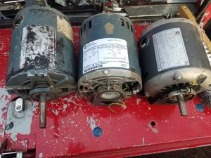 1/3 HP AC motor (one left) for Sale in Denver, CO