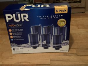 Pur maxion faucet refills for Sale in Burrton, KS