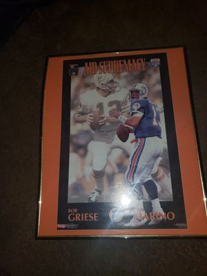 Dan Marino plaques and much more for Sale in Decatur, IN