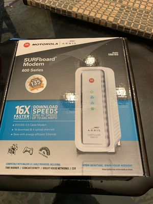 Cable Modem DOCSIS 3.0 for Sale in Falls Church, VA
