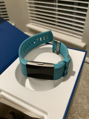 Fitbit Charge 2 Heart Rate Fitness Sleep Tracker Teal - SMALL $60!!! for Sale in Houston, TX