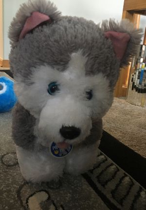 Build-a-bear workshop Husky plushie for Sale in Glendale Heights, IL