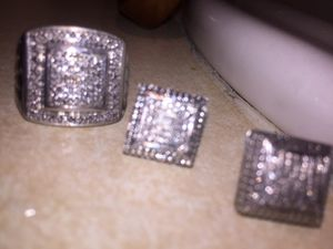 Diamond ring and Earrings for Sale in San Francisco, CA