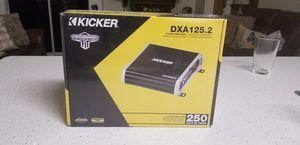 Kicker 250 watts amplifier brand new factory seal for Sale in Bakersfield, CA