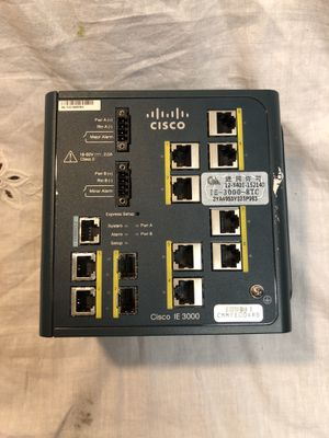 Cisco IE-3000-8TC / IE30008TC V03 Industrial Ethernet Switch for Sale in Colorado Springs, CO
