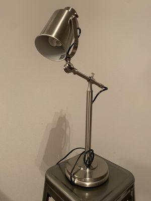 Silver Desk Lamp for Sale in Lynnwood, WA