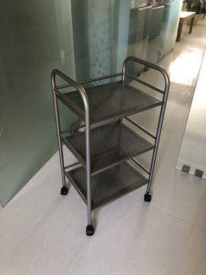 """Storage caddy, shelf, 3 tier shelf, organizer, rack, 16 x 34x 13"""" for Sale in Miami Beach, FL"""