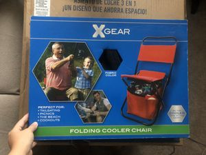 Folding cooler chair for Sale in Sunnyvale, CA