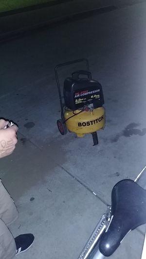 Bostitch air compressor for Sale in Pomona, CA
