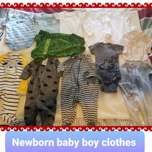 Baby boy clothes size Newborn for Sale in Bell, CA