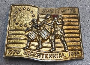Spirit of '76 Belt Buckle for Sale in Springfield, OR