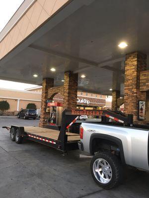 Car Hauler tilt trailer 2018 permanent plates for Sale in Chandler, AZ