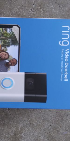 CAMERA FOOL GET THIS RING DOORBELL THAT WAY YOU CAN SEE IF LOSERS ARE BREAKING IN YOUR HOUSE SECURITY FIRST DOG 2ND WIFE KIDS for Sale in Westminster, CA