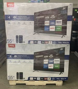 "55"" TcL roku smart 4K led uhd hdr tv for Sale in San Diego, CA"