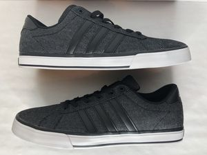 Men's adidas shoes 11 NEO SE Daily Vulc black Lifestyle Skateboarding F76263 for Sale in Austin, TX