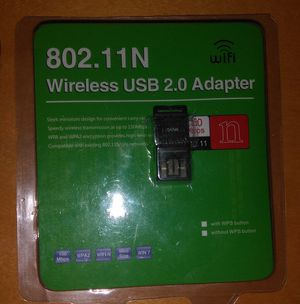 USB Wifi Adapter for PC N150 Wireless Network Adapter for Desktop - Nano Size Wifi Dongle for Sale in Chicago, IL