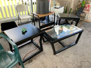 Coffee and end tables for Sale in Ruskin, FL
