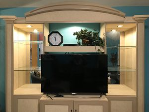 TV Wall Unit/ Entertainment Center for Sale in Round Rock, TX