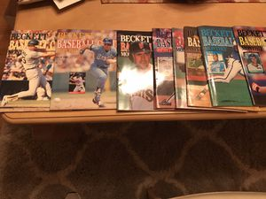 Beckett Card Guides for Sale in Garfield, NJ