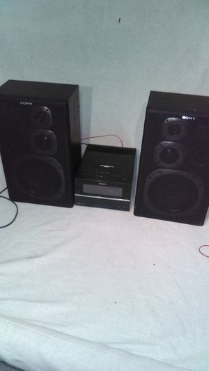 Sony compact disc Stereo receiver Upgraded Speakers for Sale in Richmond, VA
