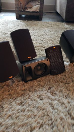 Surround sound klipsch speakers for Sale in Tacoma, WA