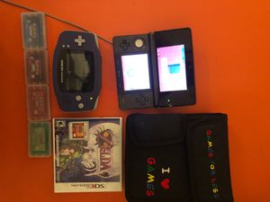 Gameboy Advance / Nintendo 3DS Combo for Sale in San Antonio, TX